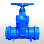 Sochet Ends Rubber Wedge Gate Valve