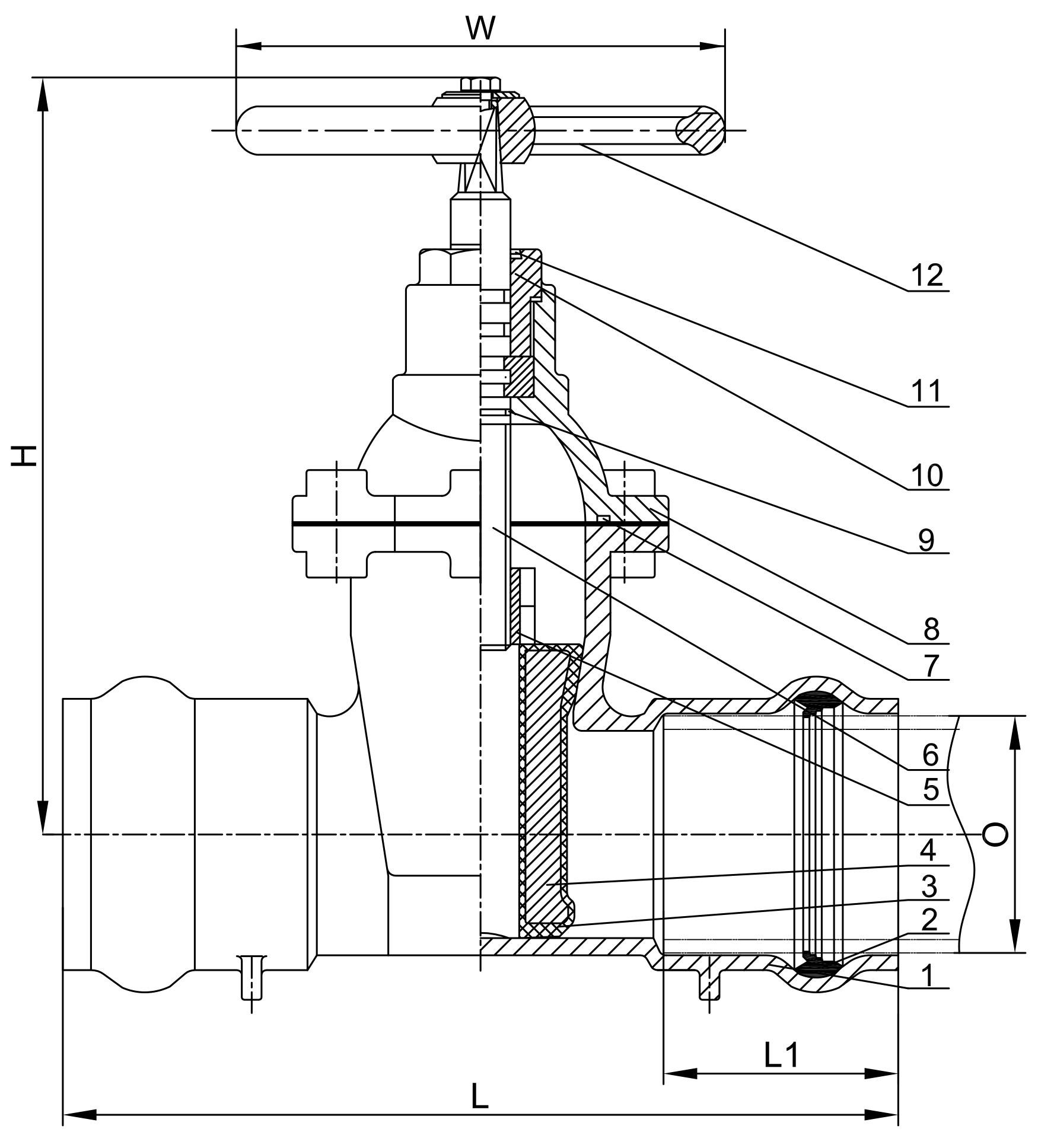 Sochet ends rubber wedge gate valve ardani valves ardani valves item pooptronica Images